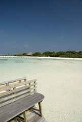 Rest at Maldives