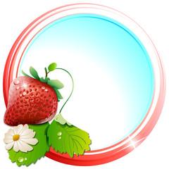 stamp strawberry