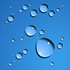 Vector dew drops
