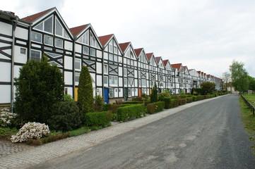 restauriertes Salzlager in Barby - Wohnhäuser