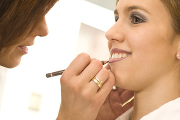 Lippen schminken 5