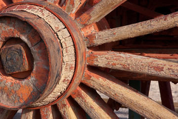 Detail of Wagon wheel