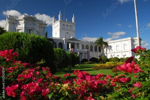 Leinwanddruck Bild Palacio de los López, Asunción, Paraguay
