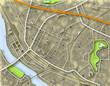 City color map