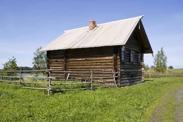 Kizhi, Russia. The house of peasant (1907)