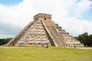 famosa piramide di chichen itza