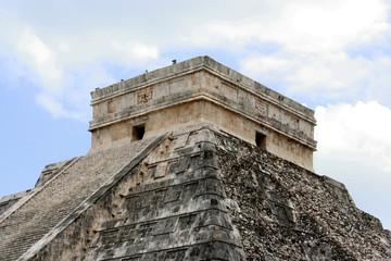 tetto della piramide, messico
