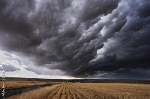 In de dag Onweer The autumn storm