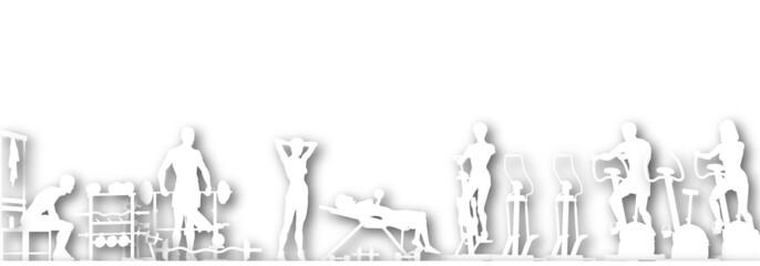 Gym cutout