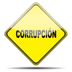 Señal corrupcion