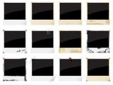 Fototapety Vector empty instant photo framesf