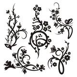 Chinesisch floralen Ornamenten