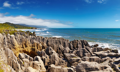 Punakaiki Pancake Rocks, New Zealand