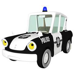 Police Car Angry