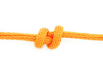 Double Overhand Stopper Knot