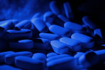 blue tablets