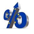 Shiny Percentage Up - Flag of European Union