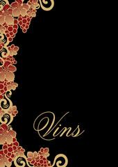 carta de vinos francés