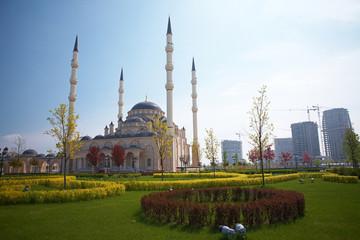The Akhmad Kadyrov Grozny Central Dome Mosque of Grozny
