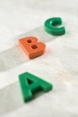 ABC letters