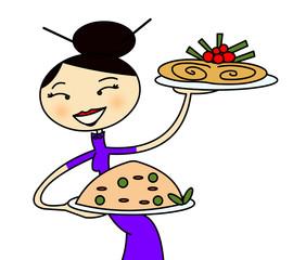 cameriera cinese