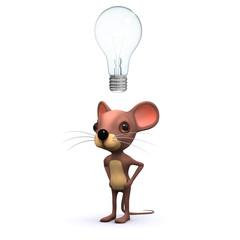 3d Mouse gets an idea