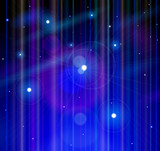 Space, Stars, Universe - technological background - vector