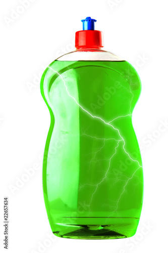 bottle of soap