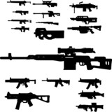 weapon collection poster