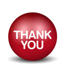 Thank You - red