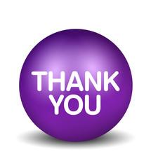 Thank You - violet