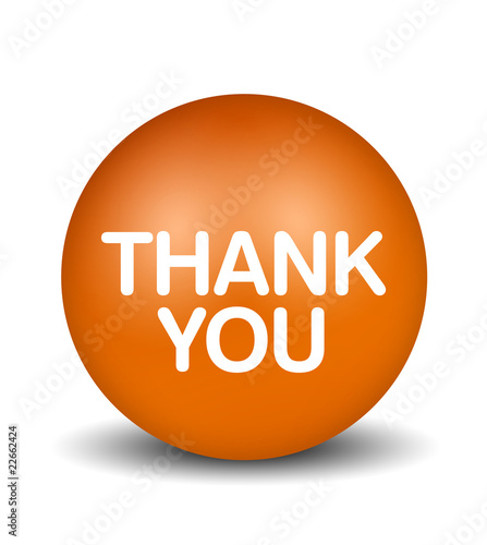 Thank You - orange