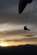 Para Glider and Sunset