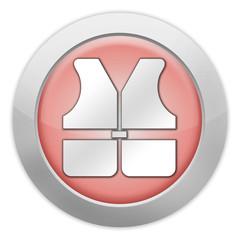"Light colored Icon ""Life Vest"""