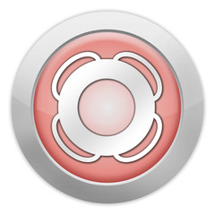 "Light colored Icon ""Life Buoy"""