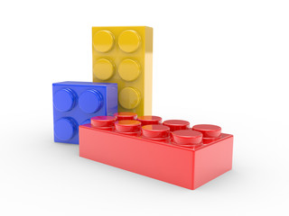 Design from toy building blocks