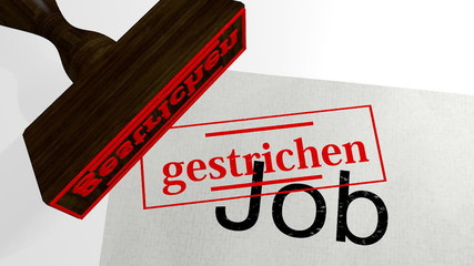Job - gestrichen - 3d Animation