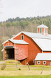 farm near St. Johnsbury, Vermont, USA