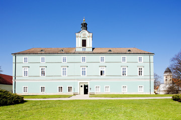palace in Dacice, Czech Republic
