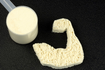 PROTEIN POWDER POWER ARM