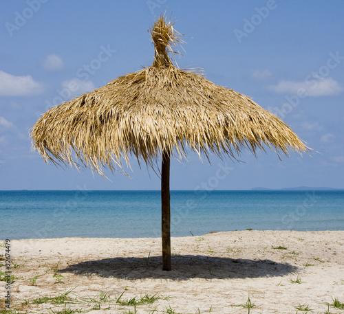 Beautiful tropical beach in Sihanouk Ville, Cambodia - 22674479