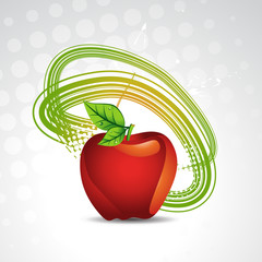 vector apple background