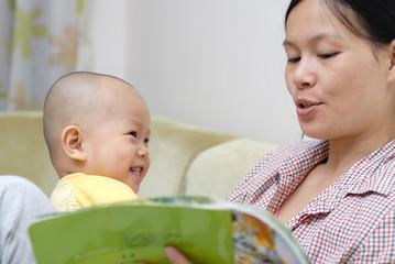 teaching baby