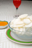 china delicious food--yam receive favors sweet sauce poster