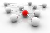 Network White Balls Reflex