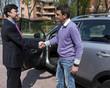 Successful Sale with Handshake