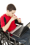 Disabled Teen Boy Online poster