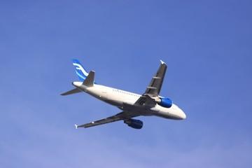 Airbus nach dem Start