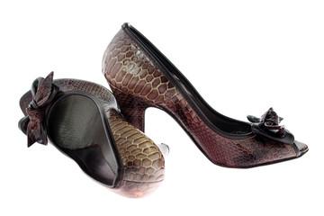scarpe donna marroni
