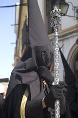 Nazareno Poratando bastón  Semana Santa